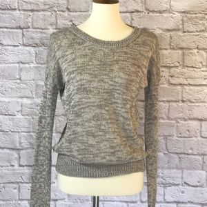 360 Sweater, taupe Linen, size extra small